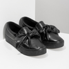 Slip-Ons with Bow north-star, black , 511-6606 - 26