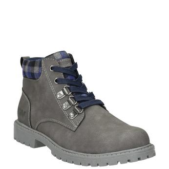 Children's winter ankle boots weinbrenner-junior, gray , 411-2607 - 13