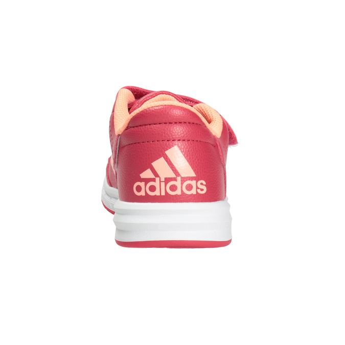 Children's Pink Sneakers adidas, pink , 301-5197 - 16