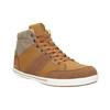 Men's high-top sneakers north-star, brown , 841-3608 - 13