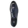 Men's leather Derby shoes bata, blue , 826-9682 - 26