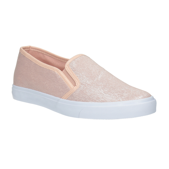 Ladies' Pink Slip-Ons north-star, pink , 511-5605 - 13
