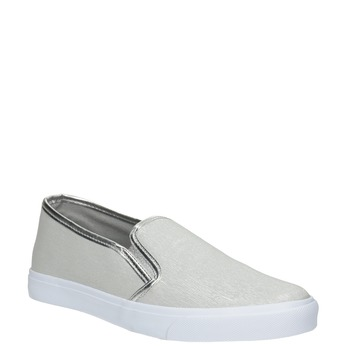 Silver Ladies' Slip-Ons north-star, silver , 511-1605 - 13