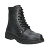 Children's Leather Lace-Up Boots, black , 496-6016 - 13