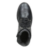 Children's Leather Lace-Up Boots, black , 496-6016 - 15