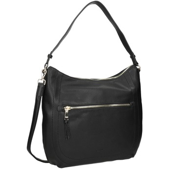 Ladies' Black Handbag with Strap gabor-bags, black , 961-6061 - 13