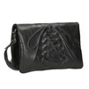 Ladies' Leather Crossbody Handbag a-s-98, black , 964-6044 - 13