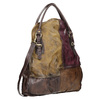 Ladies' Leather Handbag a-s-98, multicolor, 966-0061 - 13