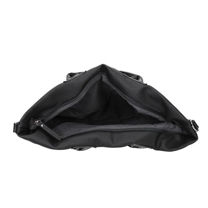 Ladies' Black Handbag gabor-bags, black , 961-6034 - 15