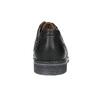 Men's leather Derby shoes bata, black , 824-6926 - 17