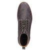 Men's leather ankle boots bata, brown , 846-4652 - 15