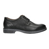 Men's leather Derby shoes bata, black , 824-6926 - 15