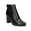 Ankle boots with heels bata, black , 691-6634 - 13