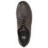 Casual leather shoes bata, brown , 824-4925 - 26