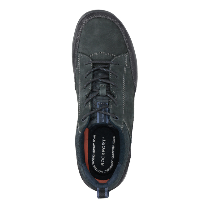Casual Leather Sneakers rockport, blue , 826-9021 - 15