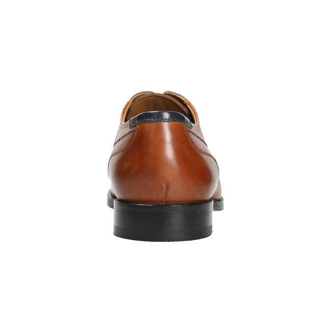 Men's brown Derby shoes bata, brown , 826-3915 - 17