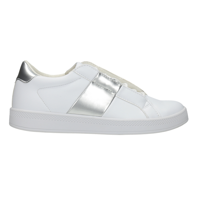 Ladies' White Sneakers atletico, white , 501-1171 - 26