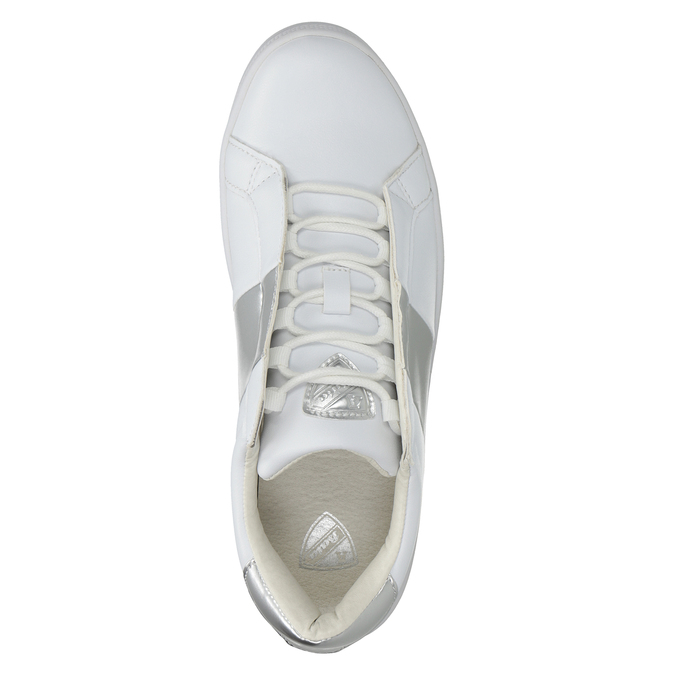 Ladies' White Sneakers atletico, white , 501-1171 - 15