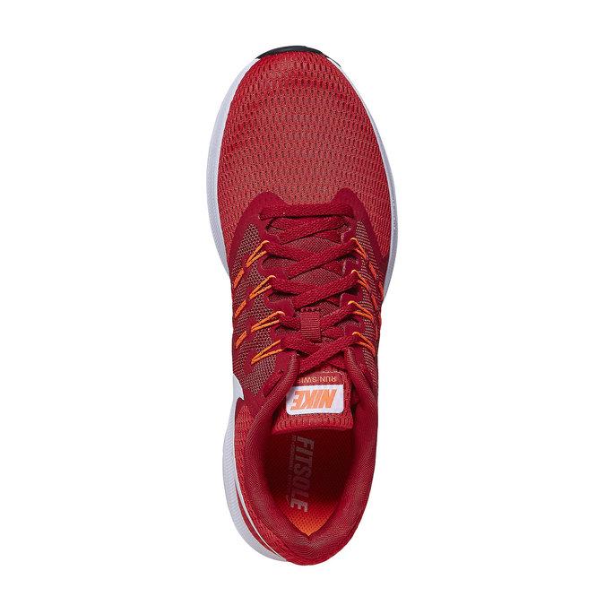 Men's red sneakers nike, red , 809-5120 - 19