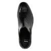 Ladies' textured  leather Chelsea boots bata, black , 596-6678 - 26