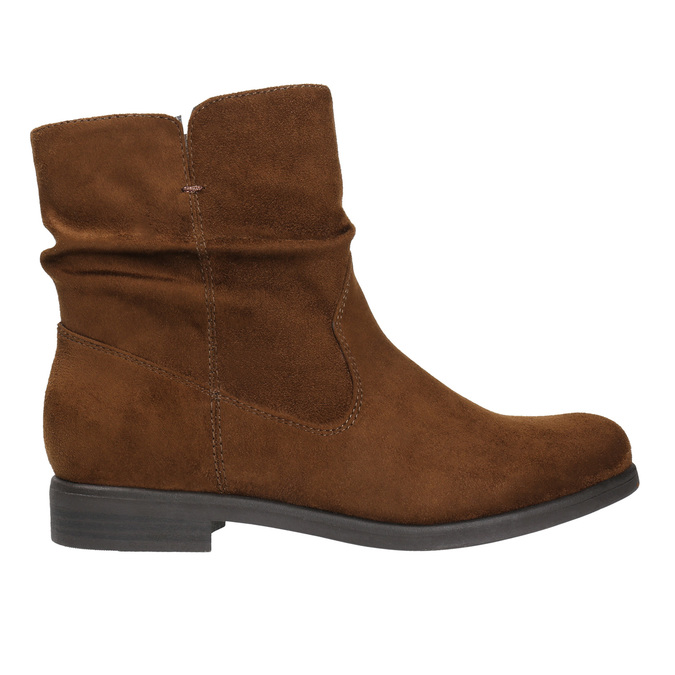 Ladies' ankle boots bata, brown , 599-3614 - 15