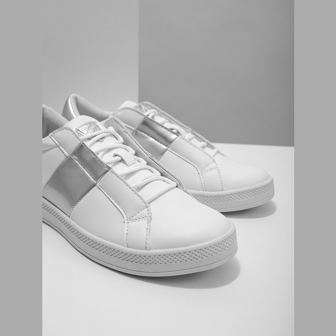 Ladies' White Sneakers atletico, white , 501-1171 - 14