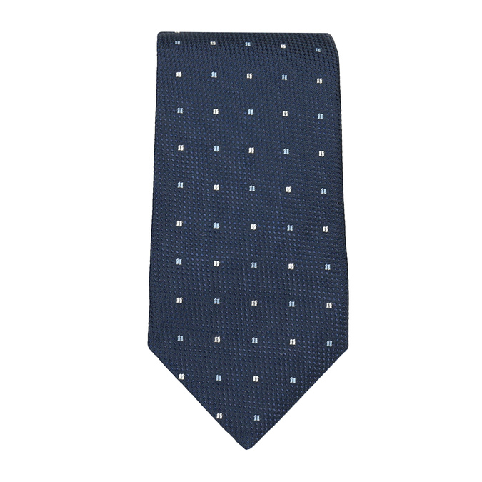 Tie, Handkerchief, and Cufflinks Set bata, blue , 999-9295 - 26