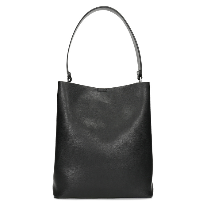 Black ladies Hobo handbag bata, black , 961-2173 - 26