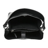Black ladies Hobo handbag bata, black , 961-2173 - 15