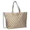 Quilted Ladies' Handbag bata, brown , 961-4139 - 13