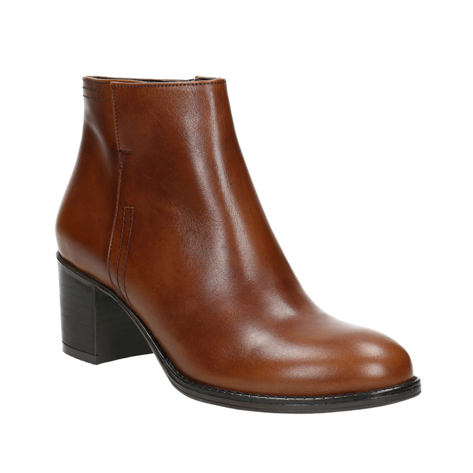Ankle Boots with Sturdy Heel bata, brown , 694-4642 - 13