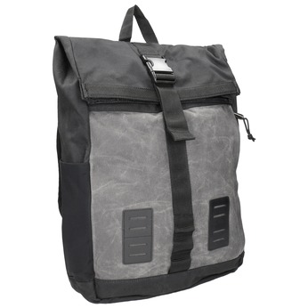 Grey Unisex Backpack with Buckle vans, gray , 969-2095 - 13