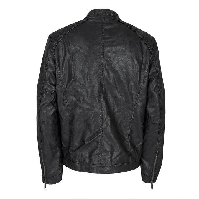 Men's Jacket with Quilting bata, black , 971-6103 - 26