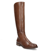 Brown Leather High Boots bata, brown , 594-4637 - 13