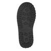 Girls' Leather High Boots with Fleece mini-b, black , 394-6193 - 17
