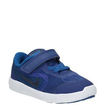 Blue Children's Sneakers nike, blue , 109-9132 - 13