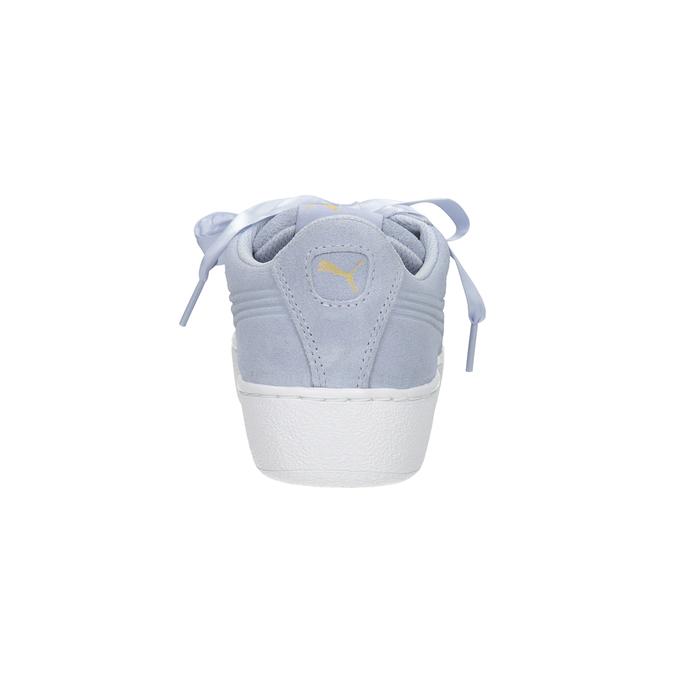 Ladies' Leather Sneakers puma, blue , 503-9169 - 16