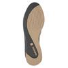 Black Leather Sneakers geox, black , 528-6083 - 17