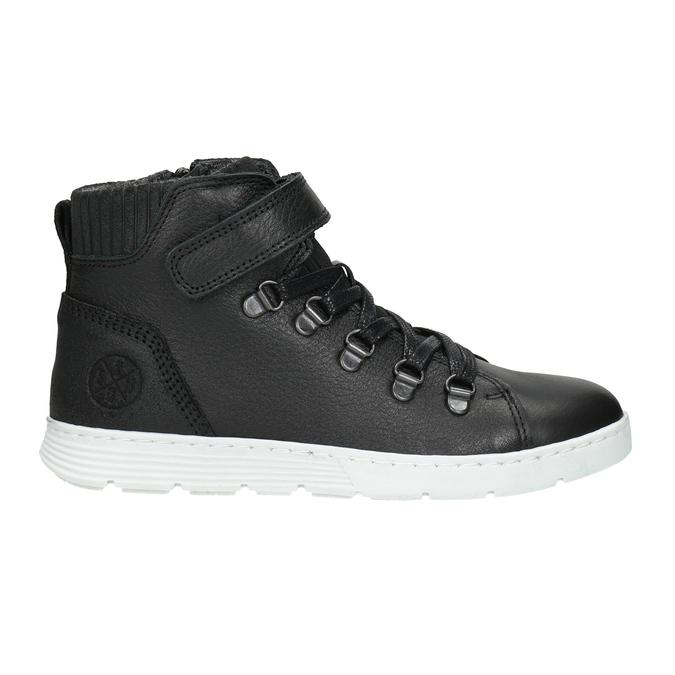 Boys' High Top Shoes, black , 494-6024 - 26