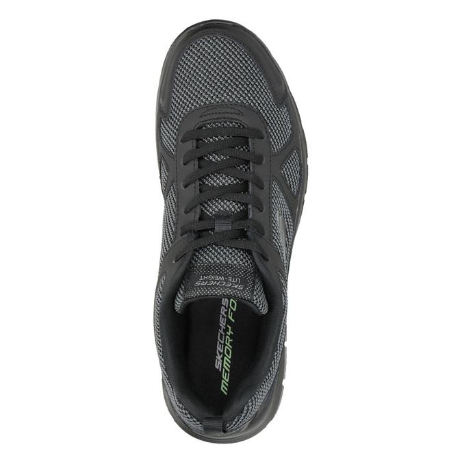 Men's Black Sneakers skechers, black , 809-6331 - 15
