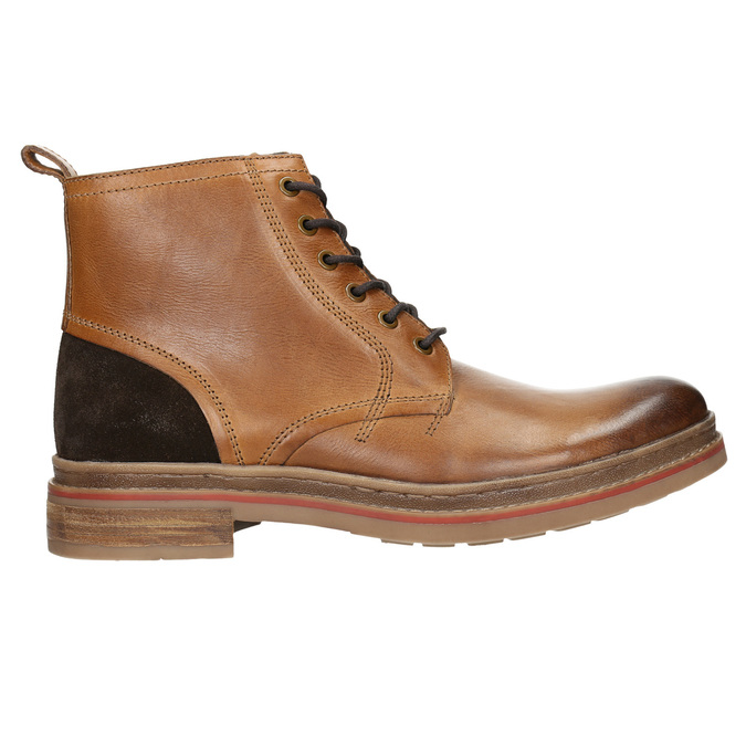 Men's Winter Ankle Boots bata, brown , 896-3685 - 15