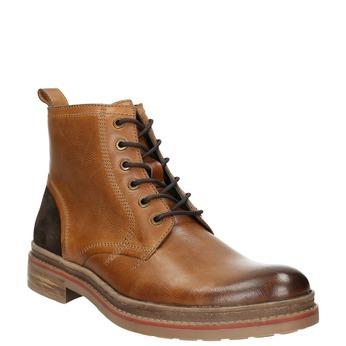 Men's Winter Ankle Boots bata, brown , 896-3685 - 13