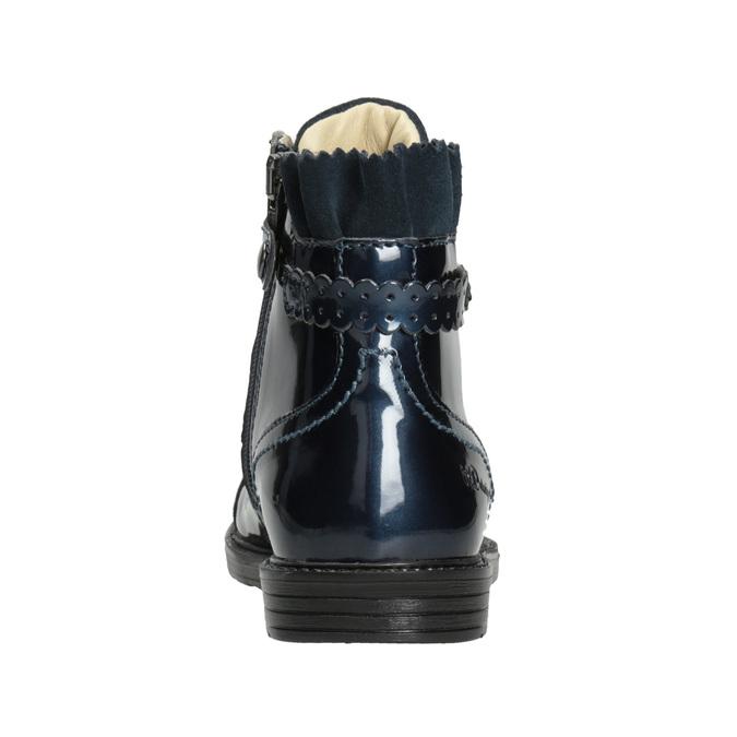 Children's Leather Ankle Boots primigi, blue , 228-9001 - 16