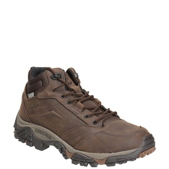 Leather Outdoor-Style Ankle Boots merrell, brown , 806-4569 - 13