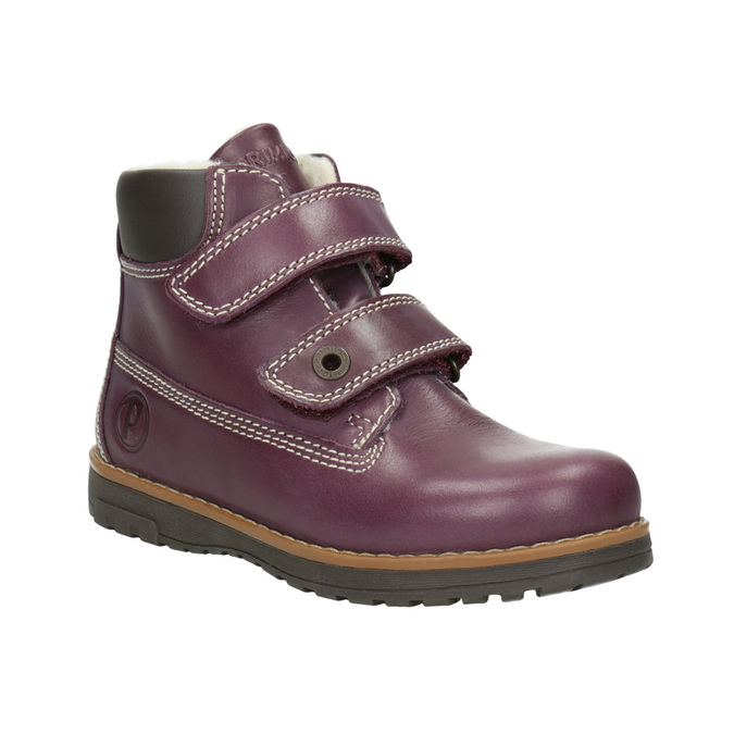 Children's insulated ankle boots primigi, violet , 324-9012 - 13