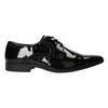 Men's patent leather shoes bata, black , 821-6601 - 26