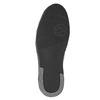 Men's Leather High Top Sneakers bata, black , 844-6644 - 17