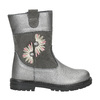 Girls' Boots with Embroidery mini-b, gray , 294-2202 - 26