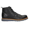 Men's Leather Ankle Boots bata, black , 896-6667 - 15