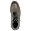 Leather Ankle Boots bata, gray , 896-2686 - 26